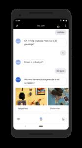 De Nederlandse Google Assistent praat via Actions met veel bedrijven.